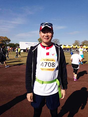 戸田マラソンに参加
