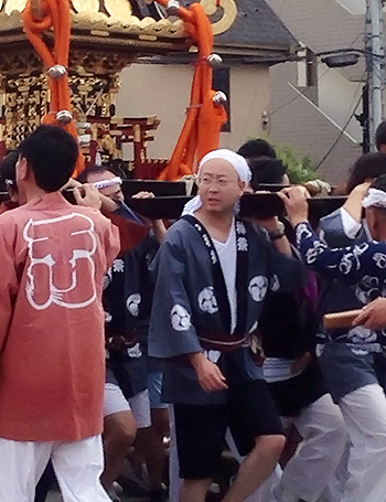 川岸町会夏祭り