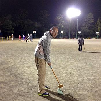 まめの会主催 グラウンドゴルフ大会に参加